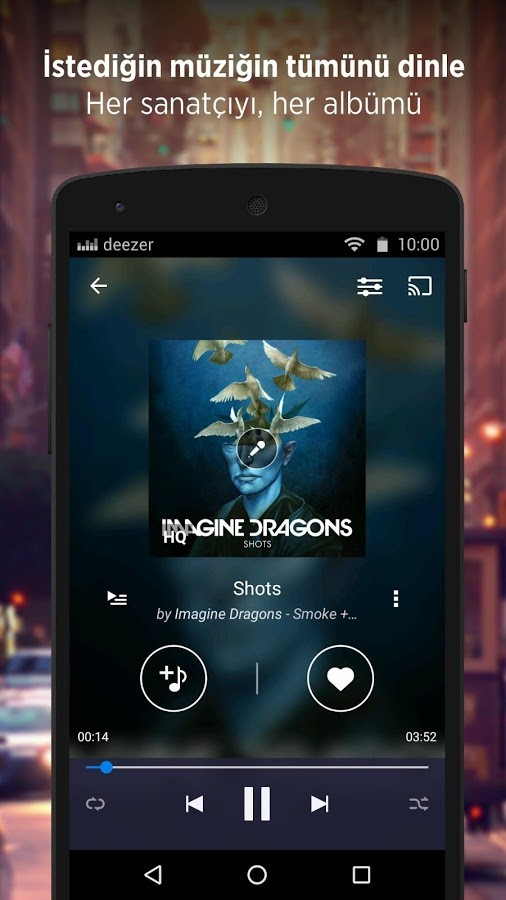 Deezer Premium İphone Program