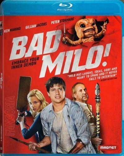Kötü Milo - Bad Milo! (2013) türkçe dublaj film indir