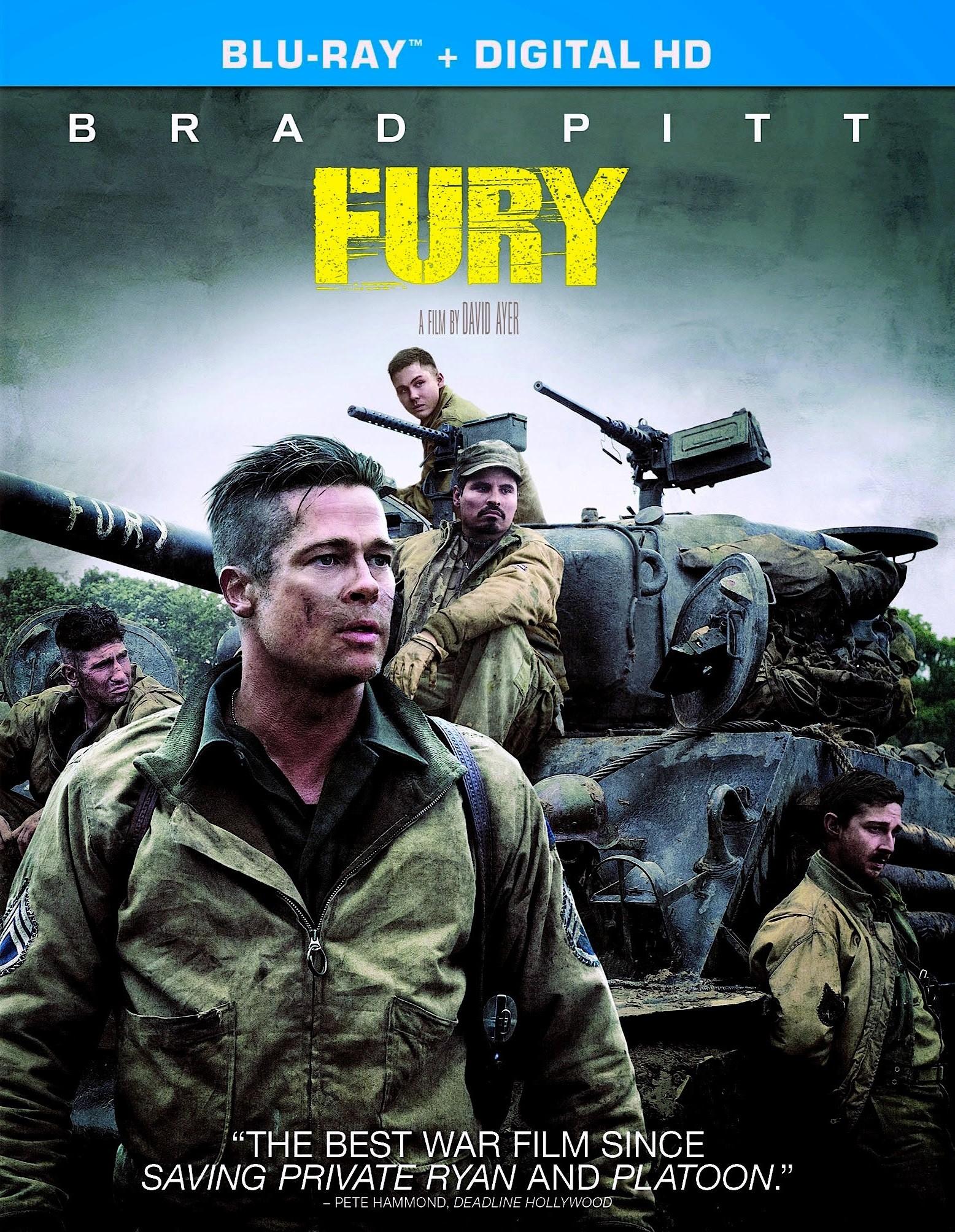fury film poster