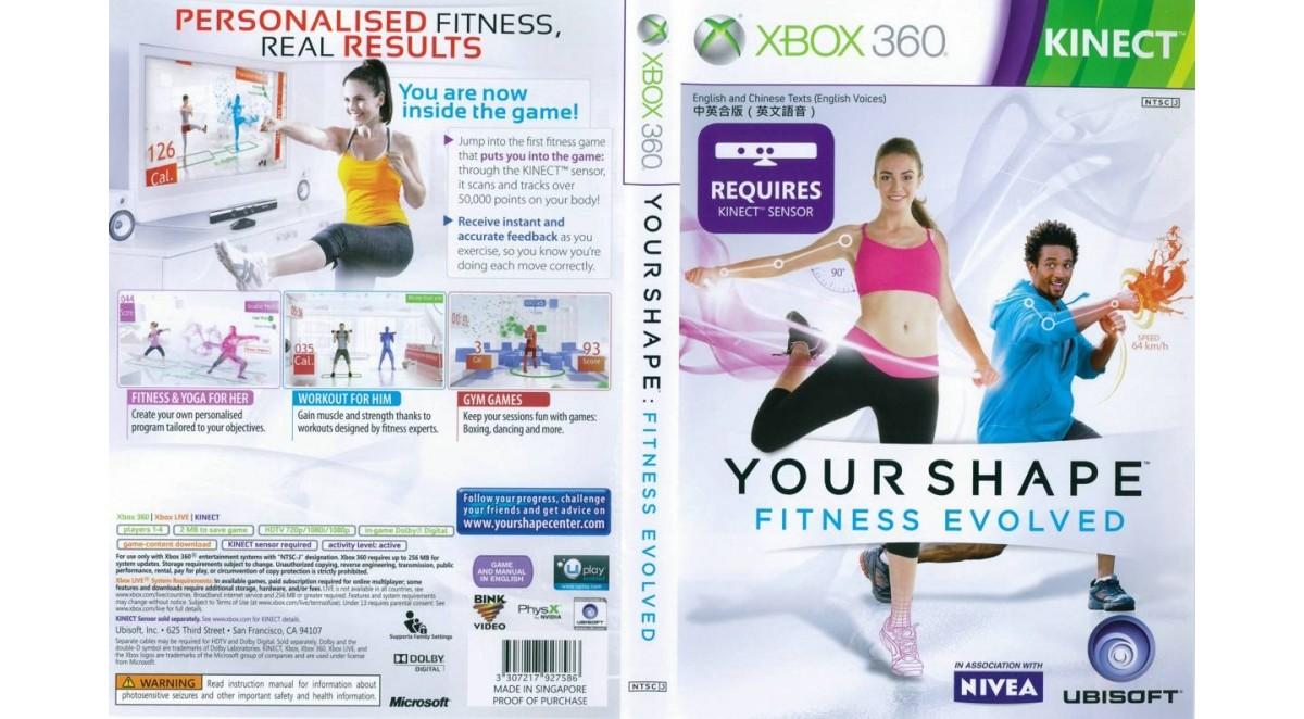 Xbox фитнес игры для похудения