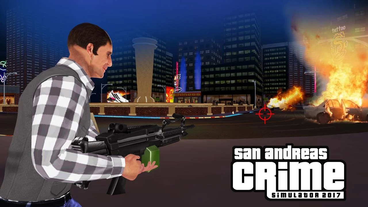 San Andreas crime simulator Game 2017 Apk