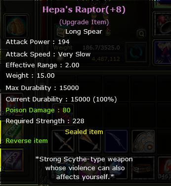 +8 Hepa's Exp RAPTOR