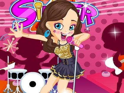 Şarkıcıyı Giydir Oyunu