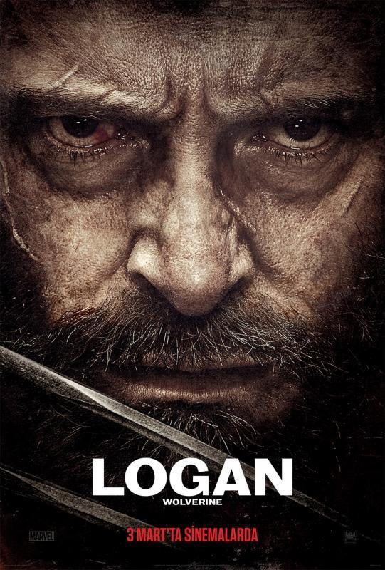LOGAN (2017) BLURAY Türkçe Dublaj Seçenekli Film indir