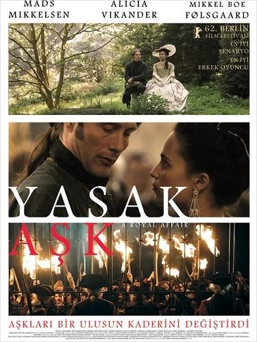 En kongelig affære | A Royal Affair | Yasak Aşk | 2012 | Türkçe Altyazı