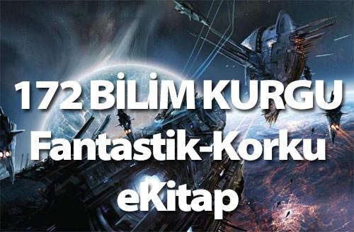 172 Adet Türkçe Bilimkurgu-Fantastik-Korku e-kitap