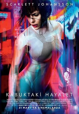 Kabuktaki Hayalet - Ghost in the Shell | 2017 (m720p BluRay x264) DUAL TR ENG  | Türkçe Dublaj İndir