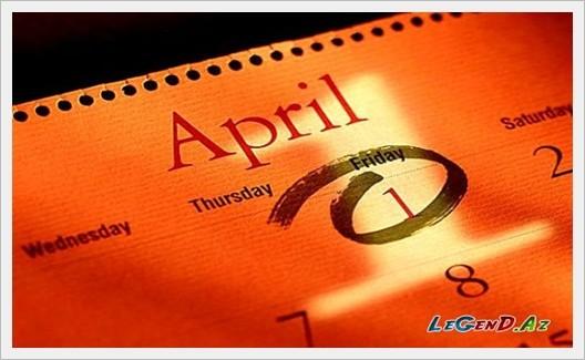 1 Aprel - Ümumdünya gülüş günü