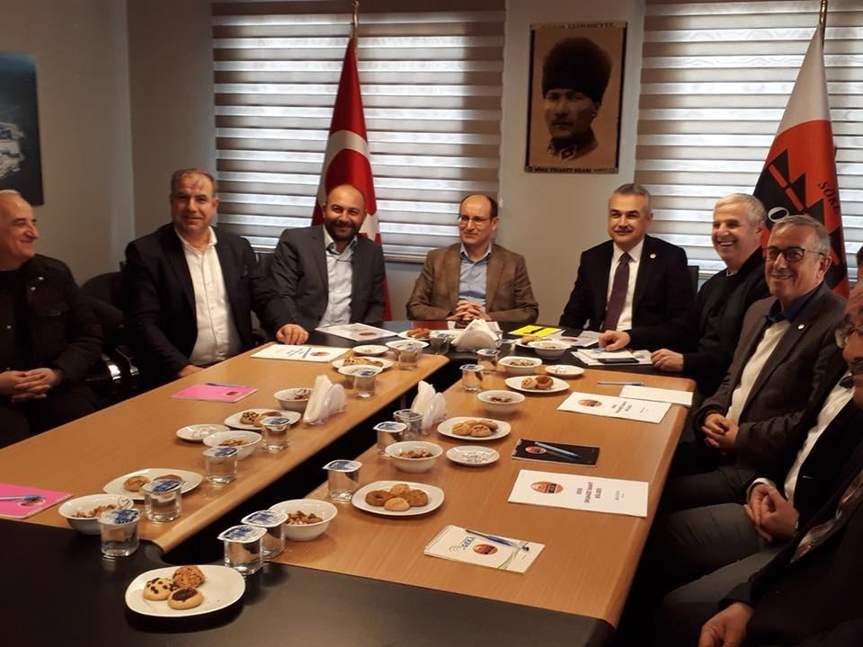 Aydın Milletvekili sayın Mustafa Savaş Söke Organize Sanayi Bölgesini ziyaret etti.
