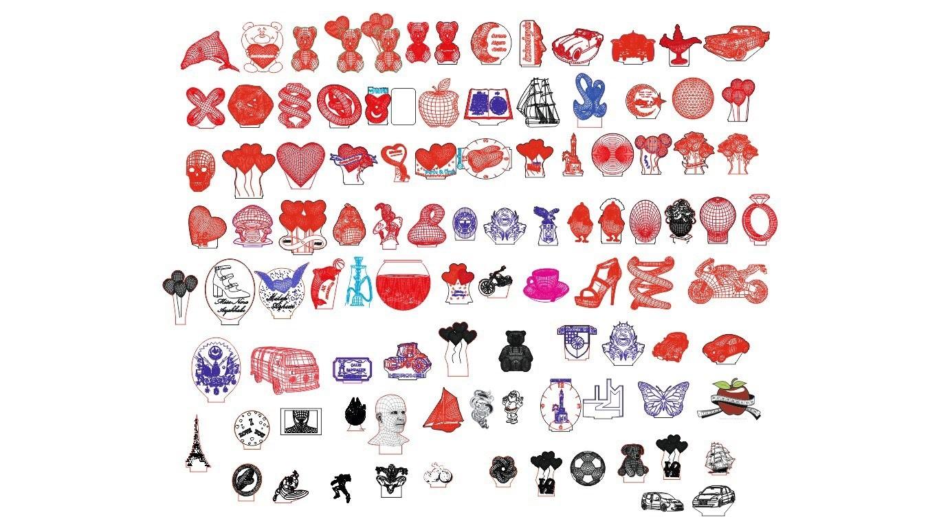 3D Lamba Çizimleri (65 Çizim)