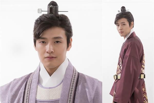 """""""Scarlet Heart: Ryeo"""" Dizisinden Kang Ha-Neul'un Üç Karakter Afişi Yayınlandı"""