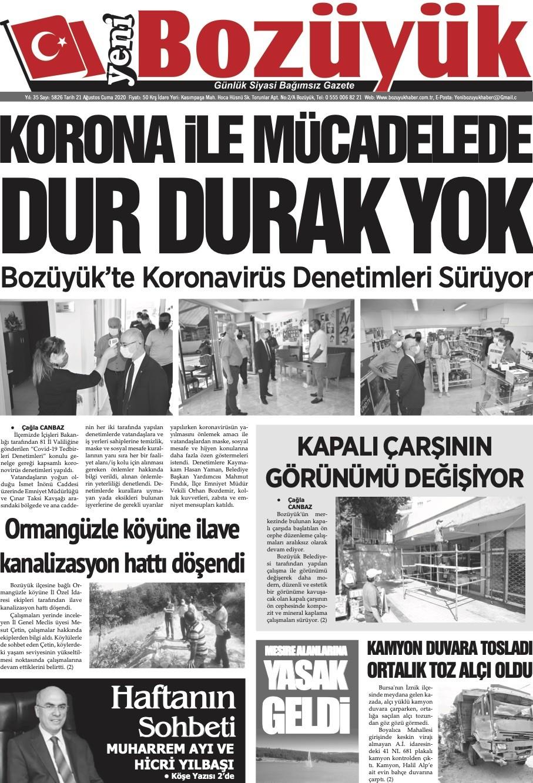 Yeni Bozüyük Gazetesi Gazetesi