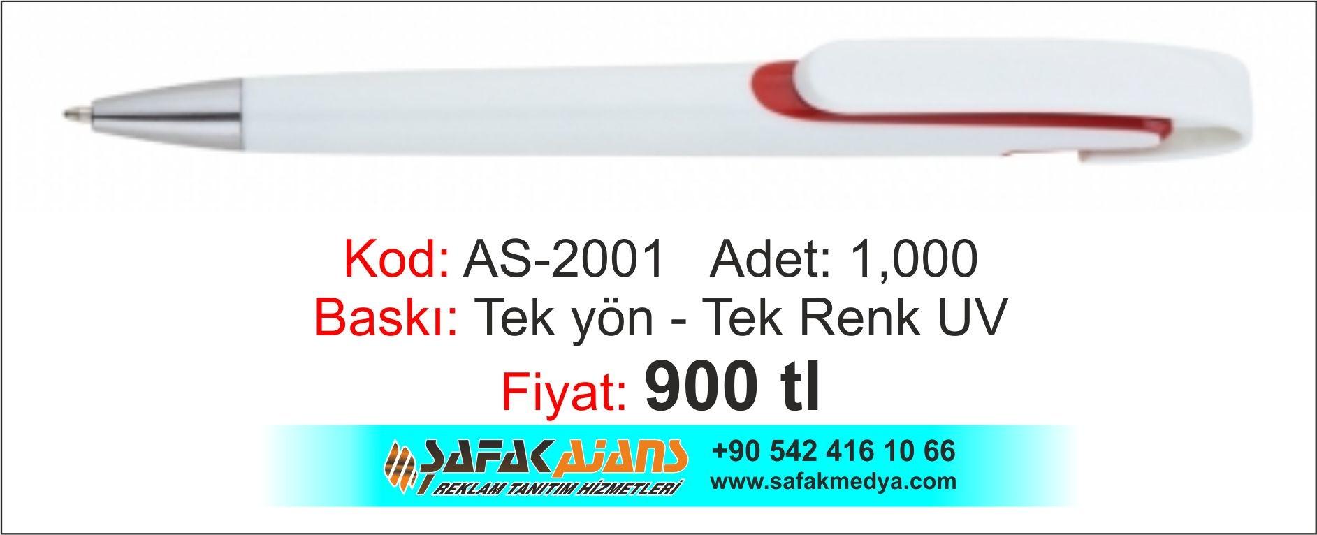 PLATİK KALEM - AS-2001