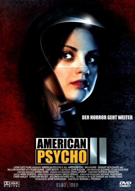 Amerikan Sapığı 2 - American Psycho 2: All American Girl (2002) - türkçe dublaj film indir