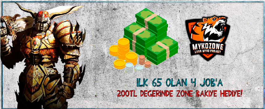 İlk 65 Lv Olanlara 200 Tl Değerinde Zone Bakiye!