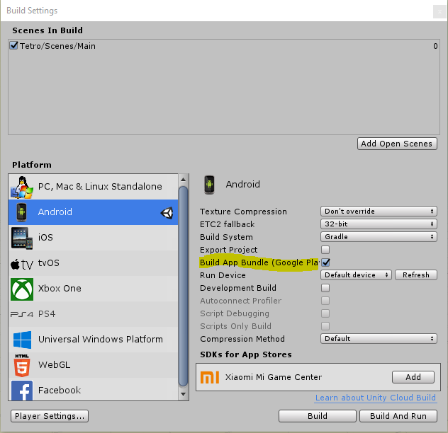 Unity İle Google Play 64 Bit Build Alma - R10 net