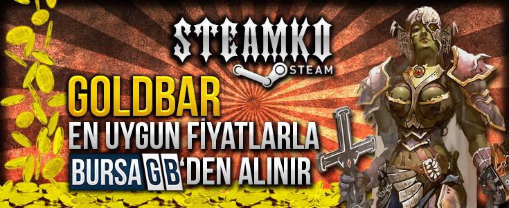 SteamKO Goldbar En Uygun Fiyatlarla BursaGB 'de