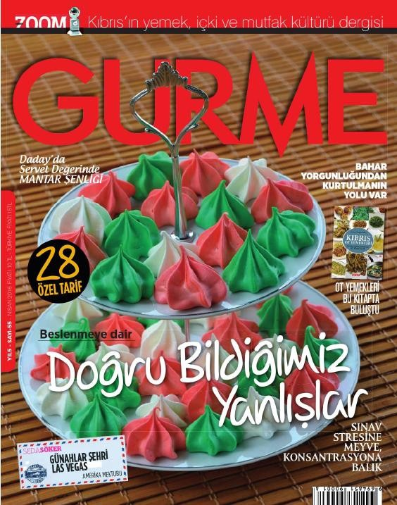 Gurme Nisan 2016 PDF Dergi indir