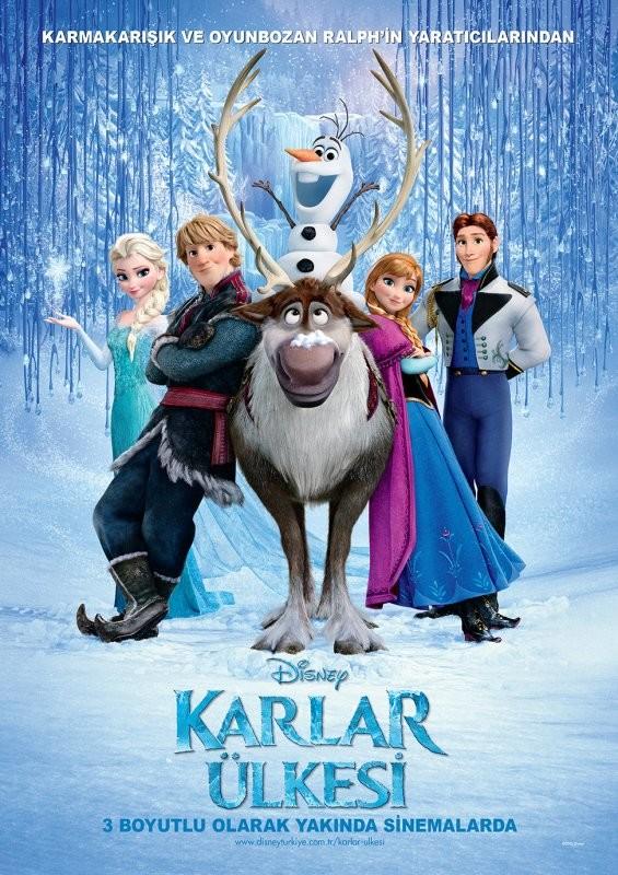 Frozen - Karlar Ülkesi (2013) - türkçe dublaj animasyon indir - 3d film indir