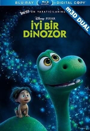 İyi Bir Dinozor m3D - m3D The Good Dinosaur 2015 m3D Half-SBS BluRay 1080p DuaL TR-EN - Tek Link indir