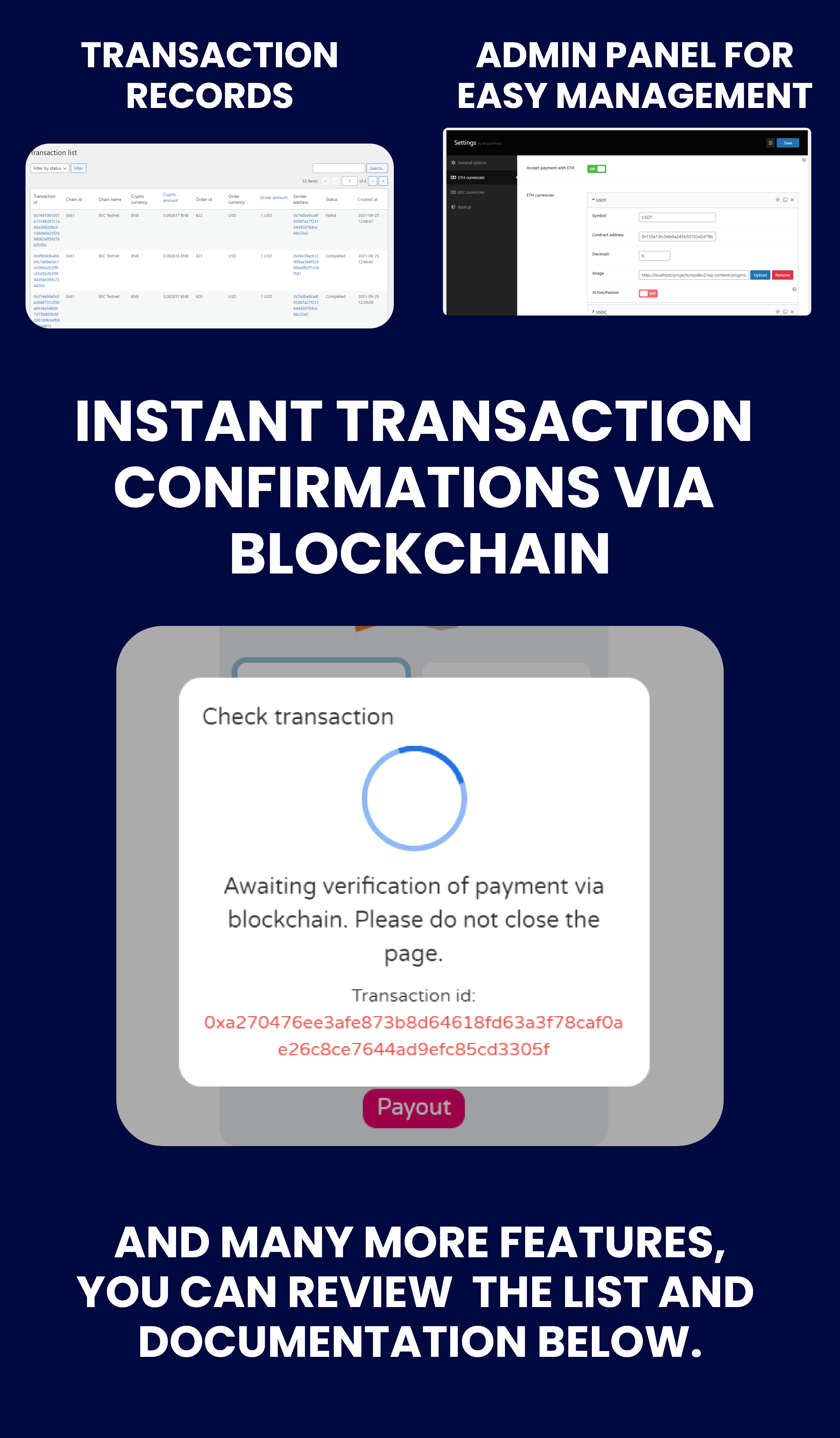 CryptoPay WooCommerce - Cryptocurrency payment plugin - 3