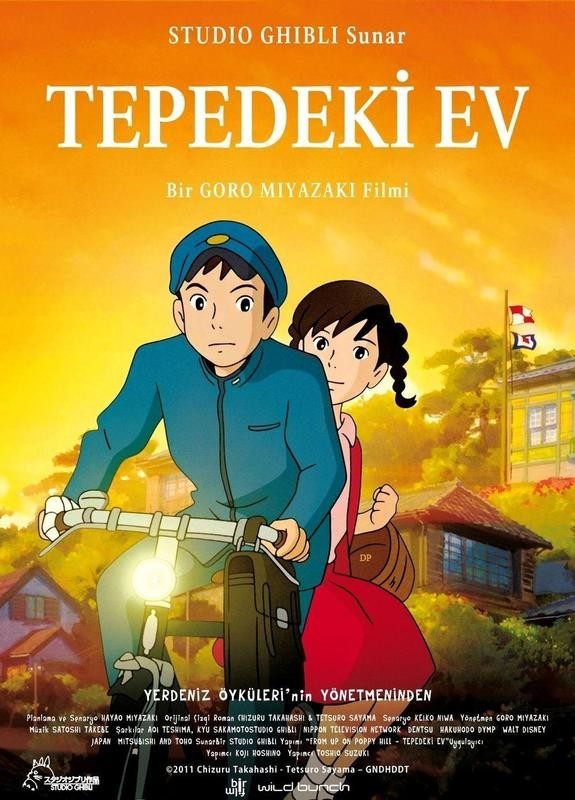 Kokuriko Zaka Kara / Tepedeki Ev / Online Anime Film �zle / 2011 / Japonya