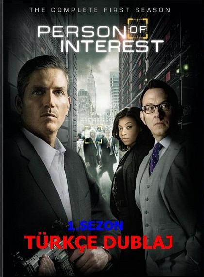 Person of Interest – Şüpheli Şahıs 1.Sezon WEB-DL Xvid Tüm Bölümler Türkçe Dublaj – Tek Link