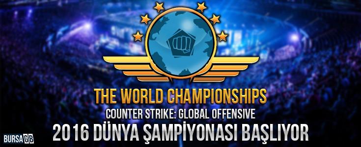 CS GO'nun 2016 Dünya Şampiyonası Duyuruldu!