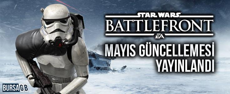 Star Wars: Battlefront Mayis Güncellemesi Süper