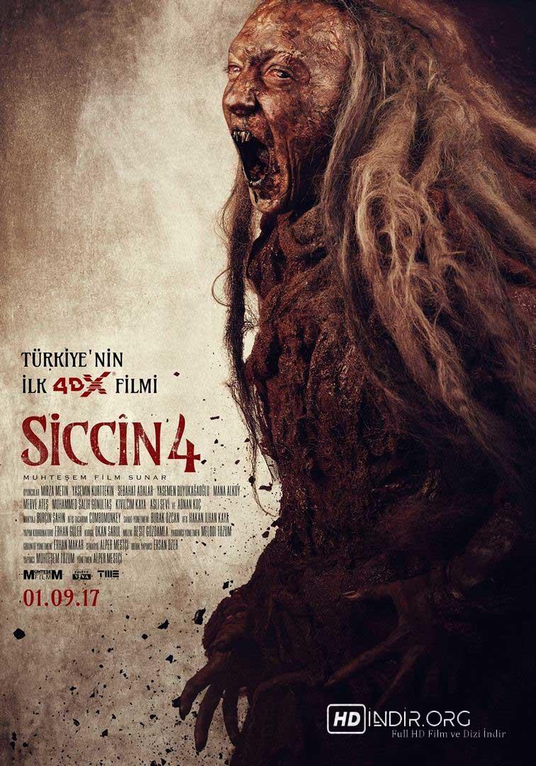 Siccin 4 indir (2017) Yerli Film 1080p Ücretsiz Tek Link