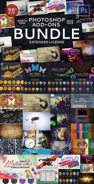 Photoshop Add-Ons Bundle Archive