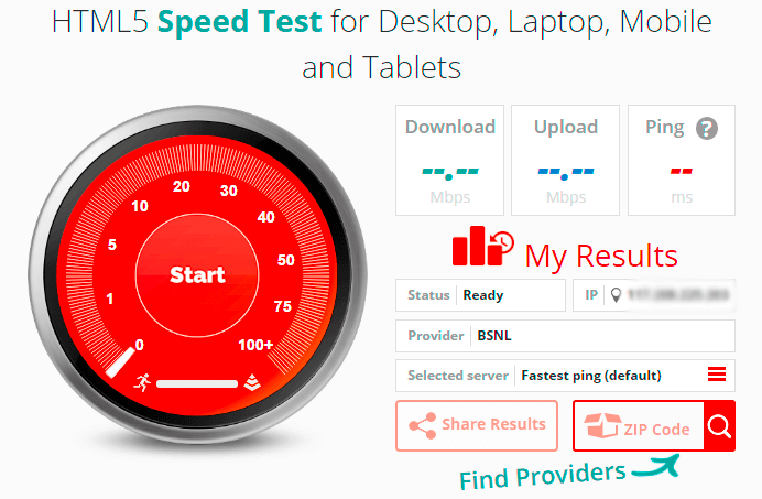 best bb speed test