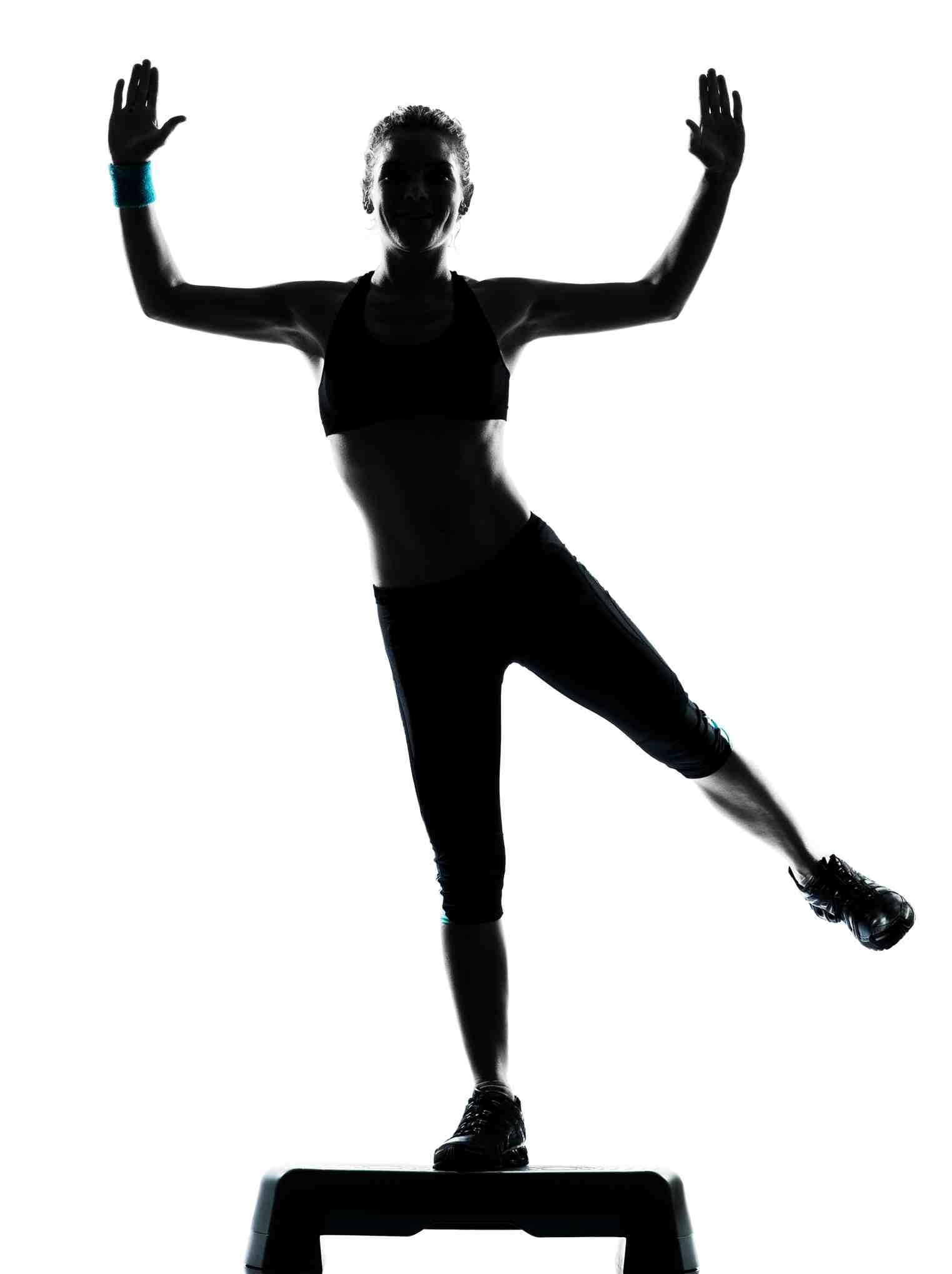 Sporcu Kadın Stok Fotoğraf