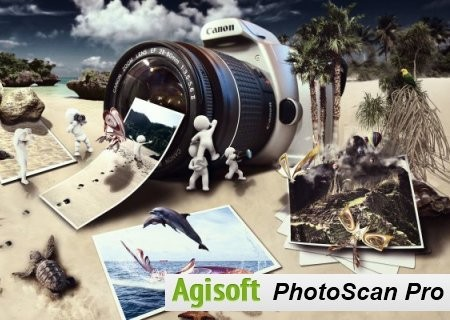 Agisoft PhotoScan Professional 1.4.0 Build 5650 Full İndir