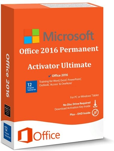 Office 2016 Permanent Activator Ultimate 1.7