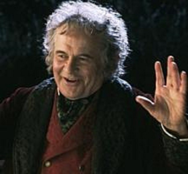 an analysis of a character introduction of bilbo baggins