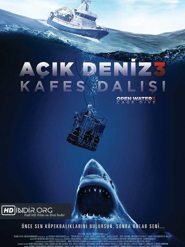 Açık Deniz 3: Kafes Dalışı (2017) Türkçe Dublaj HD indir