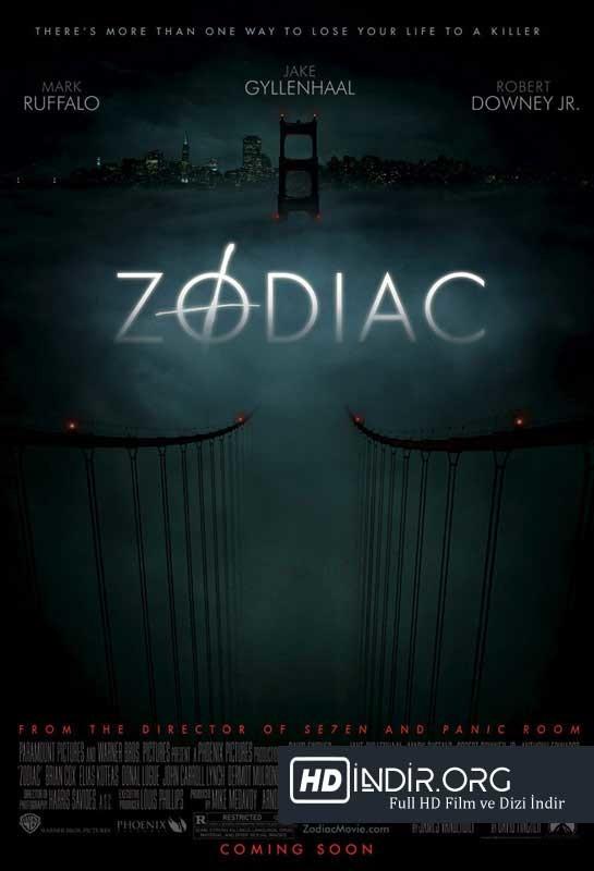 Zodiac (2007) Türkçe Dublaj HD İndir