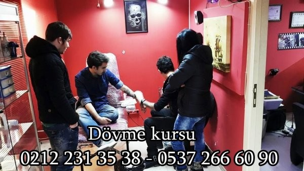 dövme kursu eğitimi tattoo murat istanbul şişli