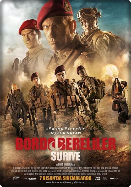 Bordo Bereliler Suriye 2017 (Yerli Film) 1080p HDTV