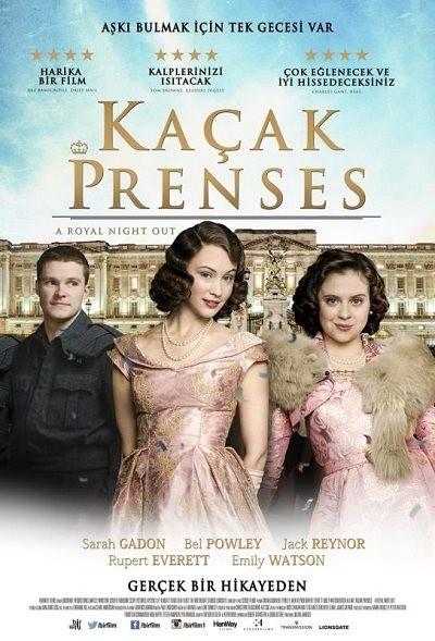 Kaçak Prenses – A Royal Night Out 2015 BluRay DuaL TR-EN | Türkçe Dublaj - Tek Link indir