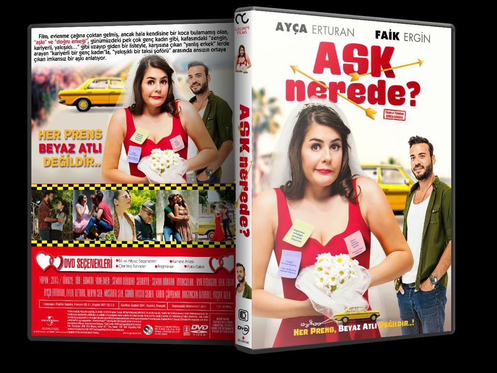 Aşk Nerede?  2015  DVD-5  Yerli Film – Tek Link