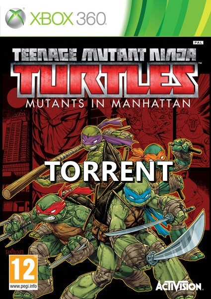 Teenage Mutant Ninja Turtles Mutants In Manhattan Xbox 360 TORRENT İndir [FULL-ISO]