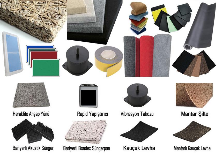 Ses yalıtım malzemeleri, ses yalıtım malzemelerinin özellikleri nelerdir
