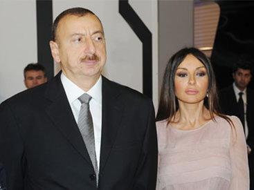 """Prezident və birinci xanım """"sosial evlər""""in açılışında olublar"""