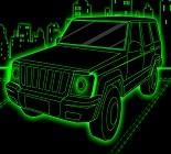 Neon Araba Park Etme Oyunu