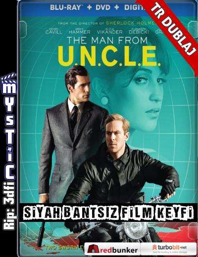 The Man from U.N.C.L.E. - Kod Adı: U.N.C.L.E. (2015) (ANAMORPHIC Siyah Bantsız BluRay m1080p) Türkçe Dublaj indir