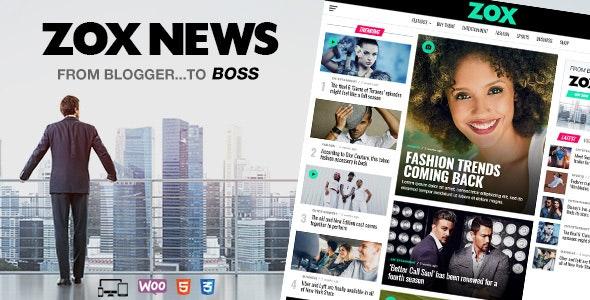 Zox News 3.11.0 - Professional WordPress News & Magazine Theme