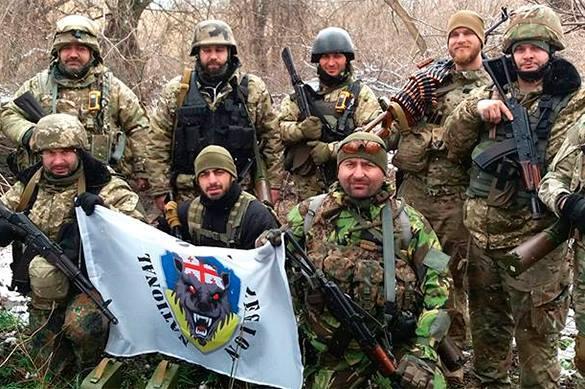Грузинский легион из АТО (Украина) хочет воевать в Карабахе