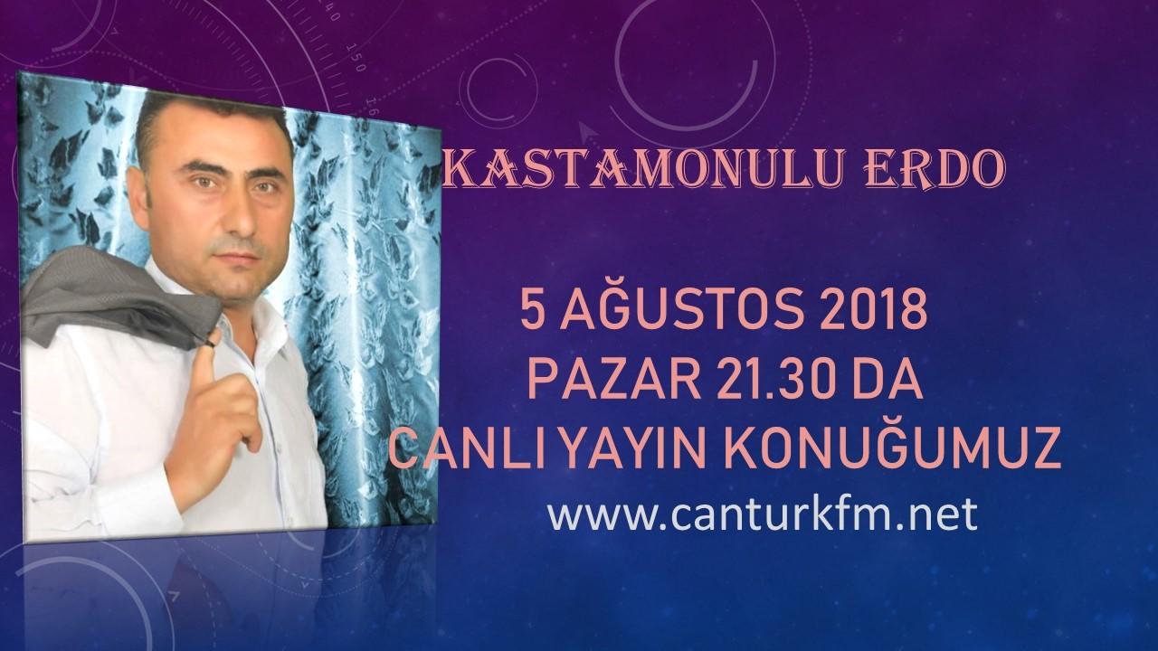 Kastamonulu Erdo CANTÜRK FM'de